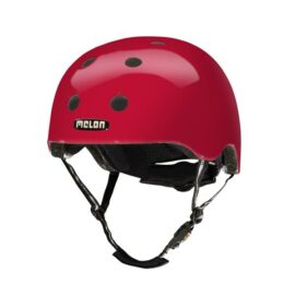 CASCO MELON ROJO BERRY XL-XXL 58-63cms