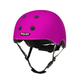 CASCO MELON ROSADO NEON BRILLANTE MD-LG 52-58cms
