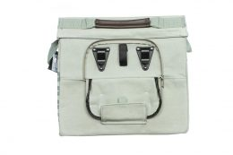BOLSO LATERAL NEWLOOXS DOCK MESSENGER LONA GRIS 11,5LT 35X28X12 CMS