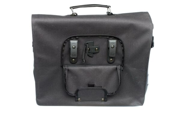 BOLSO LATERAL NEWLOOXS DOCK MESSENGER LONA NEGRO 11,5LT 35X28X12 CMS