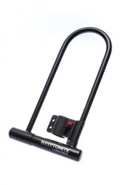 CANDADO U KRYPTONITE NIVEL 5 KEEPER LS 12MM 2 LLAVES 10,2 X 29CMS (NEGRO)