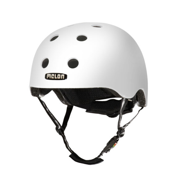 CASCO MELON BLANCO BRILLANTE  XL-XXL 58-63cms