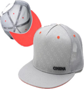 JOCKIE CINEMA 2013 CUSTOM TRUCKER GRIS PERFORADO