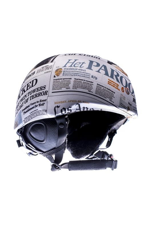 PROTECTOR CASCO TORTUGAZ NEWSPAPER