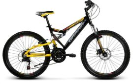 BICICLETA MTB GRAND CANYON 300 MD NEGRO/AMARILLO 2014