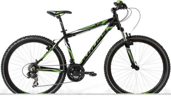 BICICLETA KROSS HEXAGON X2 DISC SM NEGRO/VERDE/BLANCO
