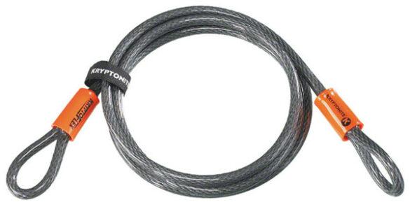 CABLE SEGURIDAD S/NIVEL KRYPTONITE FLEX 710 10MM S/CIERRRE 220CMS