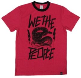 POLERA WTP SNAKE HEATHER TALLA:XL ROJO 2013