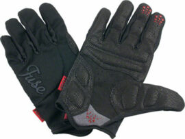 GUANTE LARGO FUSE ALPHA PADDED NEGRO XL