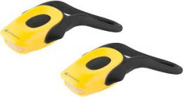 LUCES SET KROSS TICK-II 2 LEDS 2-FUNCIONES AMARILLO