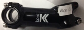 TEE MTB/RUTA KOOL AS-009 AL.FORJADO 3D AHEAD 17  28.6 x 90mm NEGRO