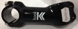 TEE MTB/RUTA KOOL AS-6026 AL.FORJADO 6061 2D AHEAD 15  28.6 x 90mm NEGRO