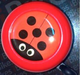 CAMPANILLA RING RING IBIKES B610AP 55mm ROJO