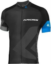 TRICOTA KROSS M/CORTA RACE+ ML NEGRO