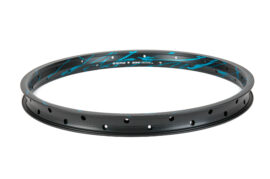 LLANTA SALT PLUS SUMMIT  36H AERO NEGRO/CYAN ACID DRIP