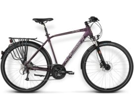 BICICLETA KROSS TRANS GLOBAL MD VIOLETA OSCURO/ COBRE MATTE