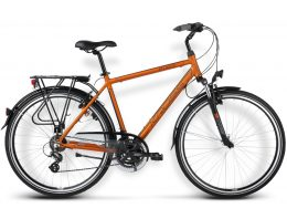 BICICLETA KROSS TRANS ATLANTIC MD CAFE /COBRE MATTE