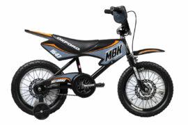 BICICLETA INFANTIL ARO:16 OXFORD MOTO NEGRO/GRIS