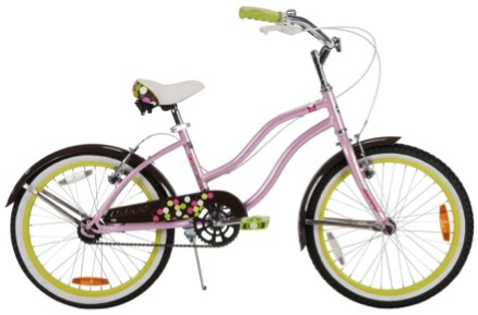 BICICLETA INFANTIL ARO 20 HUFFY GOOD VIBRATION ROSADO