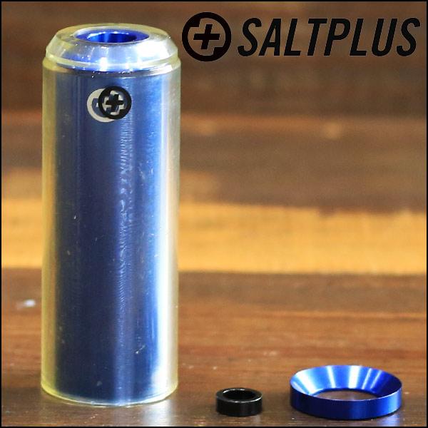 PEDALINES SALTPLUS ECHO NYLON 4,3 ADAPTADOR 14mm/10mm AZUL/TRANSPARENTE (UNIDAD)
