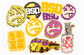 SET STICKER  BSD 10 PACK MIXED