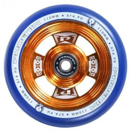 RUEDA PHOENIX ROTOR 110mm DORADO/AZUL