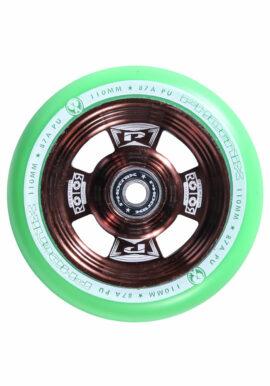 RUEDA PHOENIX ROTOR 110mm BRONCE/VERDE