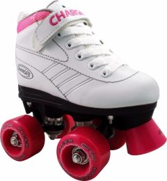 PATINES RC PACER CHARGER QUAD T32 BLANCO/FUCSIA