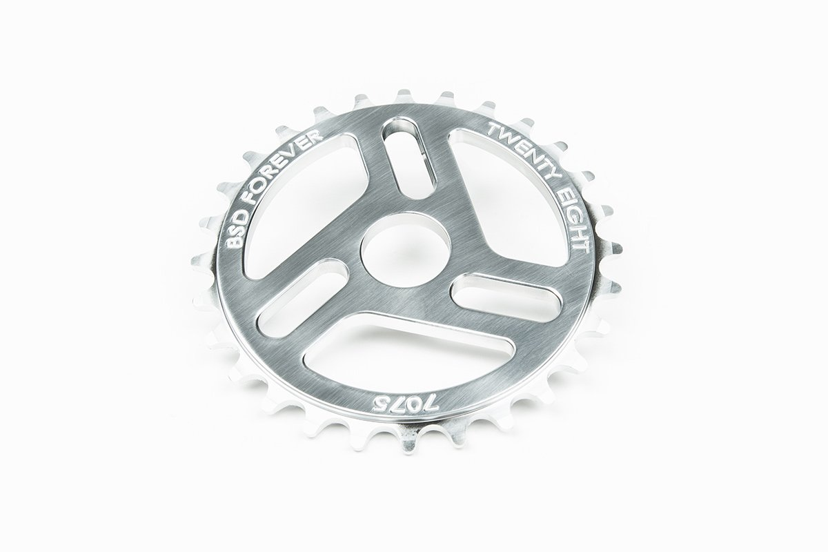 CORONA BSD SUPERLITE 3D 5 SPOKE 25T CROMADO
