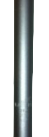 TUBO ASIENTO 26.2 ZOOM SP-167 ALUMINIO 300mm PLATA