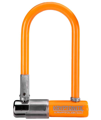 CANDADO U-LOCK KRYPTONITE SERIES 2 MINI-7 GRIS NARANJO