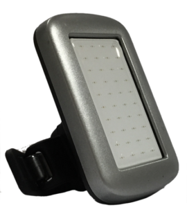 LUZ USB TRASERA IBIKES ZLIM  25L SILVER