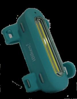 LUZ USB DELANTERA IBIKES ZAFE  90L TURQUESA