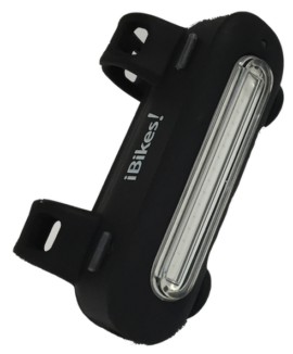 LUZ USB TRASERA IBIKES ZAFE  35L NEGRO