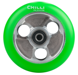 RUEDA CHILLI PARABOL 100mm VERDE