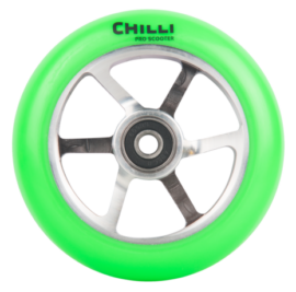 RUEDA CHILLI 6 SPOKE VERDE