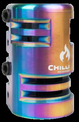 ABRAZADERA CHILLI 4 PERNOS SCS 2.0 RAINBOW