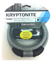 CABLE SEGURIDAD KRYPTONITE K510 CON CLAVE