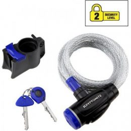 CABLE SEGURIDAD KRYPTONITE K510 CON LLAVE