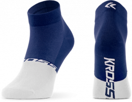 CALCETINES KROSS ACTIVE MAN LOW MD AZUL/BLANCO