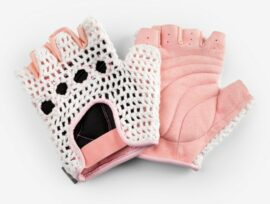 GUANTES LE GRAND STITCH LADY SM ROSADO