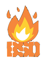 STICKER BSD FLAMED