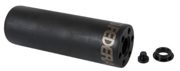 PEDALIN FEDERAL HOLLOW POINT CRMO 4.5TT/14mm/ C/ADAPT 10mm NEGRO