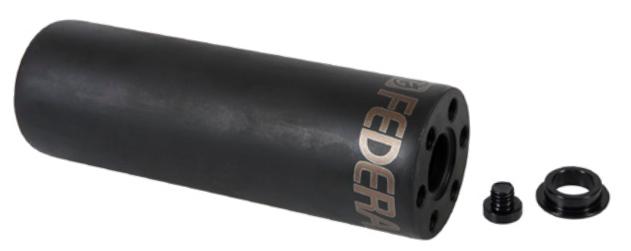 PEDALIN FEDERAL HOLLOW POINT CRMO 4.5TT/14mm/ C/ADAPT 10mm NEGRO
