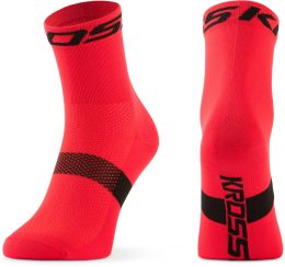 CALCETINES KROSS PAVE MID SM ROJO