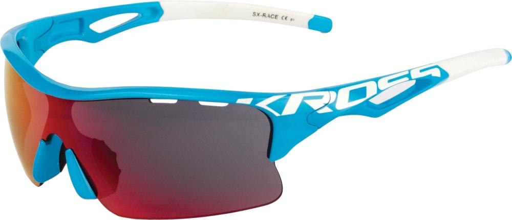 LENTES KROSS SX-RACE AZUL/BLANCO