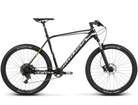 BICICLETA KROSS LEVEL R7 MD NEGRO/SILVER/LIME MATTE