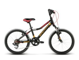 BICICLETA KROSS LEVEL MINI NEGRO/ROJO/NARANJO GLOSSY