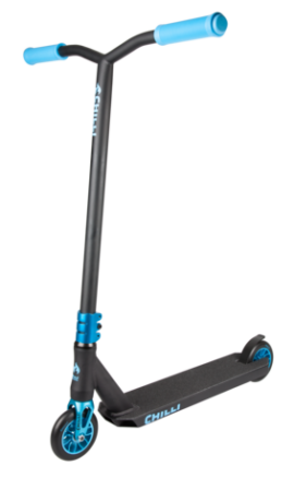 SCOOTER CHILLI WAVE REAPER NEGRO/AZUL
