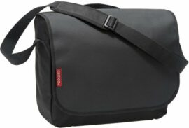 BOLSO LATERAL CAMEO MESSENGER BY NEWLOOXS 12LT NEGRO